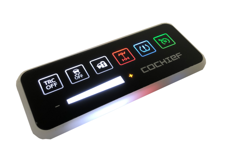 Slide Function key Touch Module